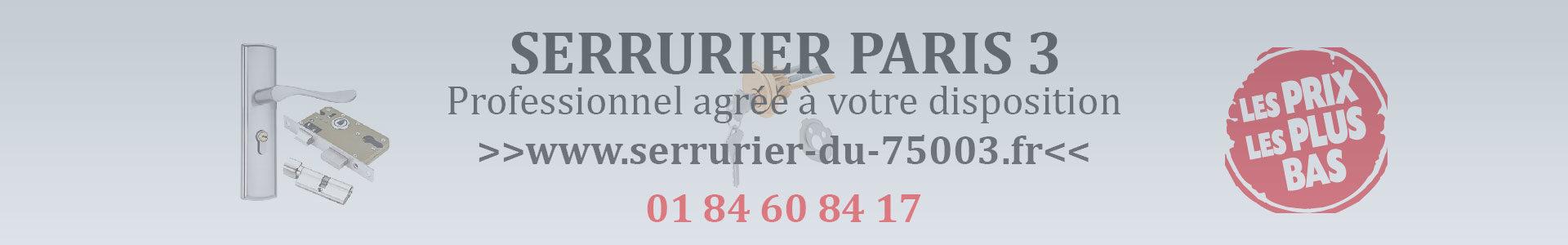 Serrurier Paris 3